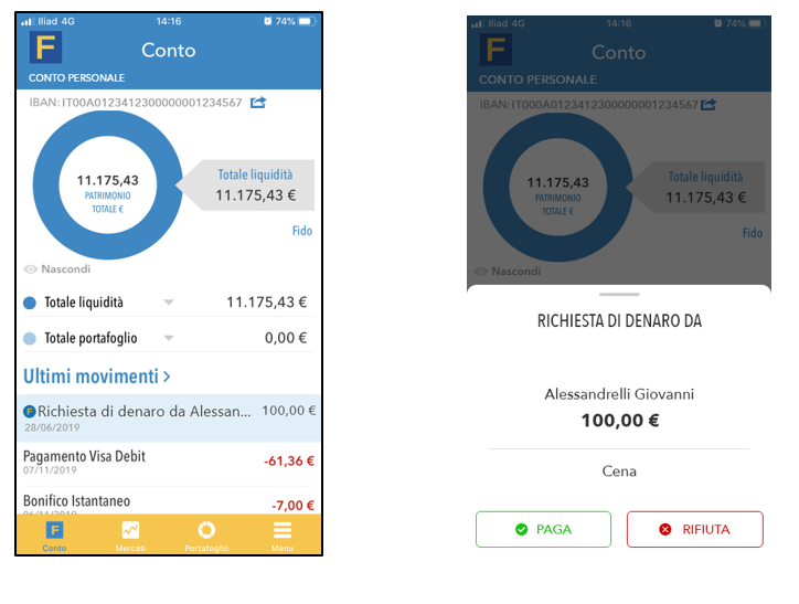 Fineco Pay – Invia e Ricevi Denaro con i tuoi amici